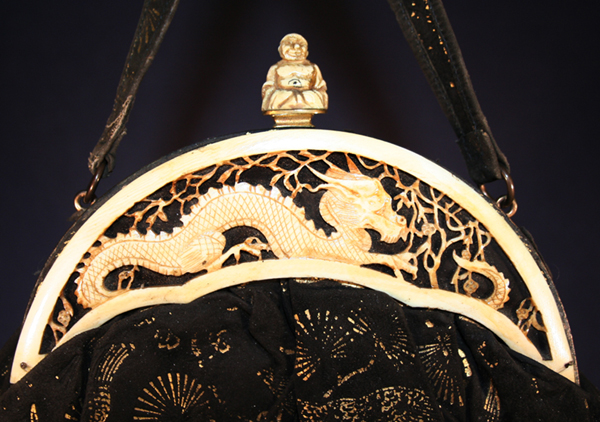 The Dragon and Buddha celluloid purses