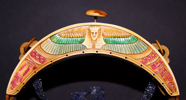 Winged Pharaoh 1 celluloid purses