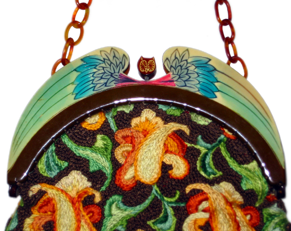 Wisdom of Athena celluloid purses