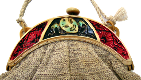 Noh Theater Mask celluloid purses