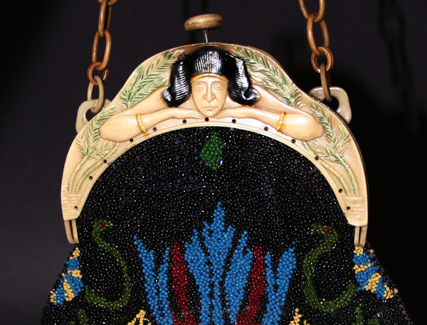 Egyptian Pharaoh II celluloid purses