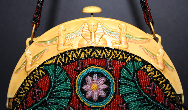 Ultimate Egyptian Revival celluloid purses