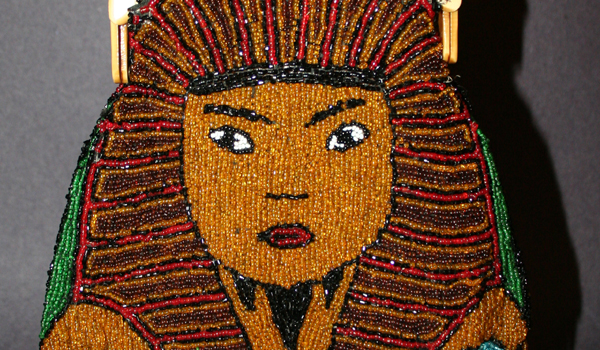King Tut celluloid purse