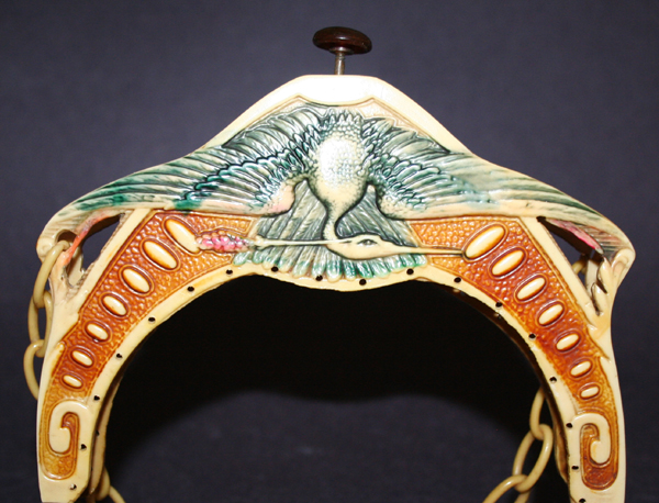 Egyptian Crane celluloid purses