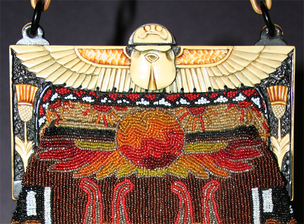 Egyptian Hieroglyphs celluloid purses