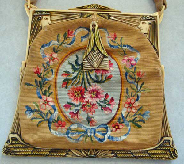Egyptian Surround Frame celluloid purses