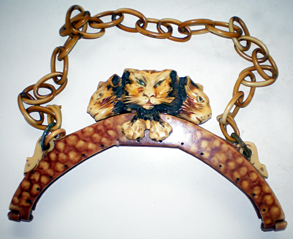 Cats versus mice celluloid purses