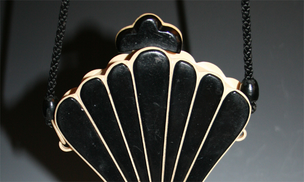 Fan celluloid purses