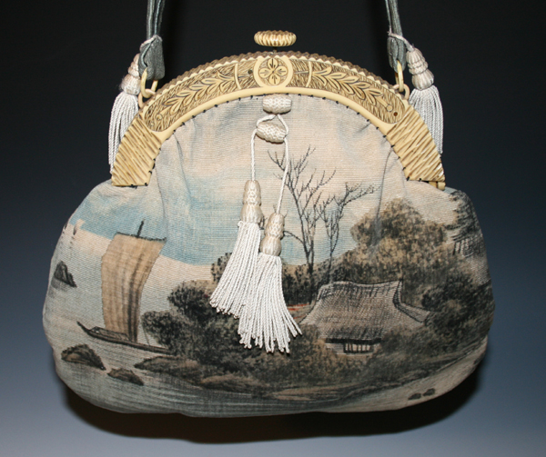 Sumi-e Purse celluloid purses